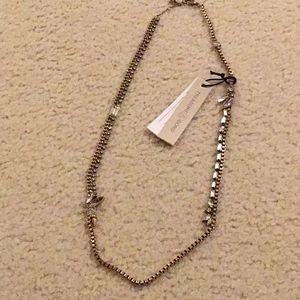 Treasure & Bond God chain Crystal necklace
